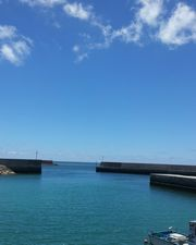 穏やかな石垣島の伊野田港