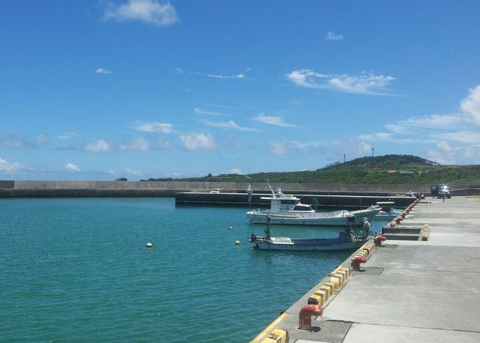 現在の伊野田漁港