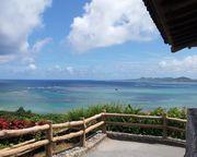 石垣島の東海岸を一望 玉取崎灯台