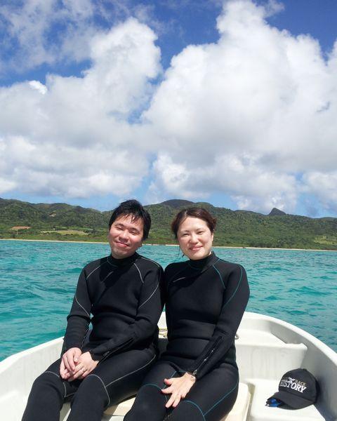 K籐さんご夫婦。楽しいツアーでした