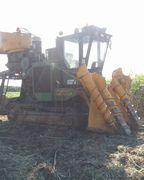 ハーべスター。サトウキビの収穫に大活躍