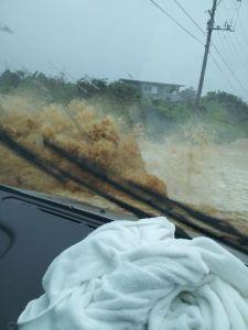 ゲリラ豪雨だっ!87号線冠水マップ