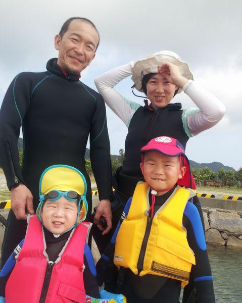 千葉からお越しのY田さんご家族。