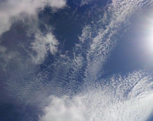 曇り時々晴れのお天気