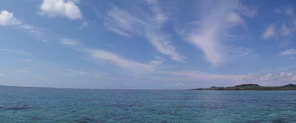 抜けるような青空がきれいな1日でした