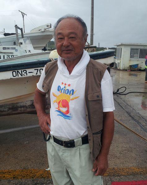 T良さん、オリオンビールTシャツ NO2