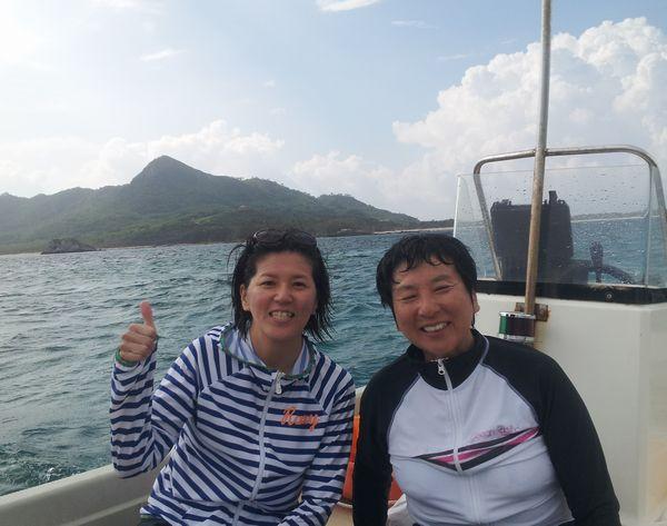 午後からのツアーはM松さん親子とY山さん