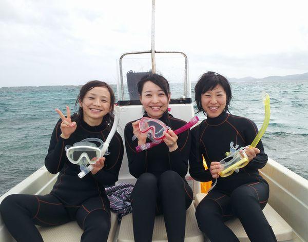 チームK畠さん3人組の女子旅です。: