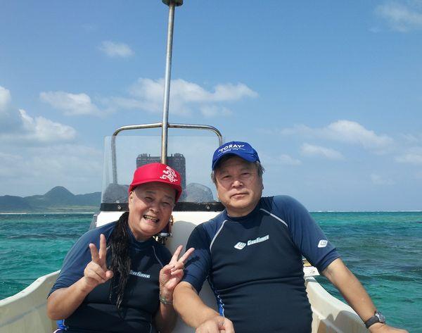 沖縄には20回!ハードリピーターのT橋さんご夫婦