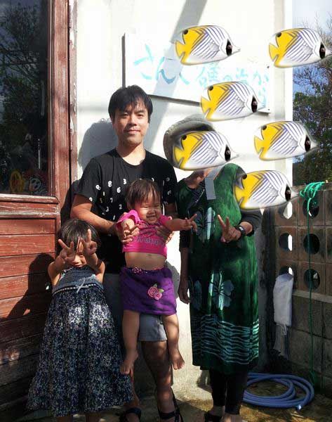 T橋さんご一家です。5歳のスイちゃん、1歳のランちゃんです。