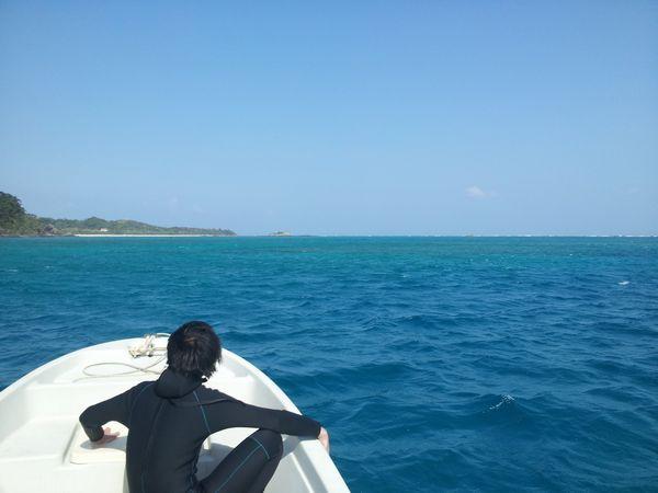 見渡す限りの海は独り占めです
