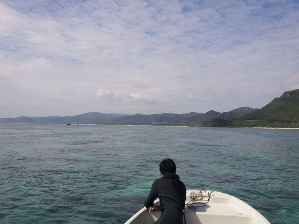 水面がとっても穏やか!シュノーケル日和です