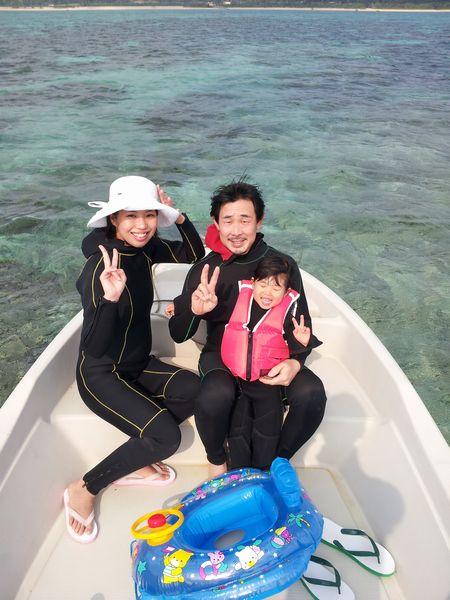 S田さんご家族です。リホちゃんは3歳。奥さんは妊娠6ヶ月です