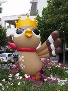 市役所前にぱいーぐるの像がありましたっ!