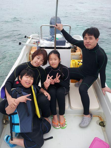 S枝さんご家族です。和やか雰囲気でのツアーとなりました。
