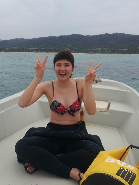 ふらっと女子旅で石垣島初旅行のK田さん