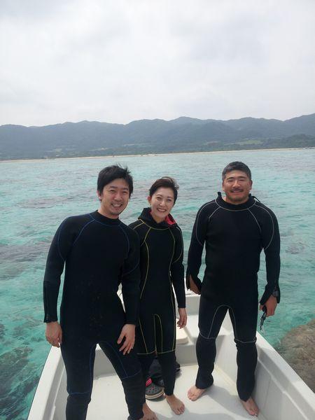 K籐さんご夫婦と、S田さんです。