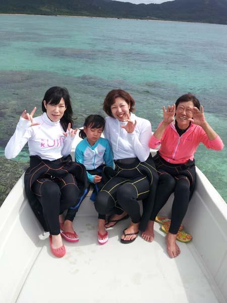 N島さんファミリーです。サヨちゃんは5歳です。