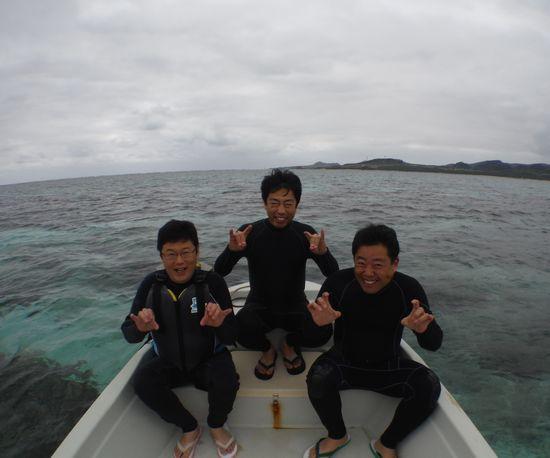 男子旅です!Mさん、N島さん、Y形さんです