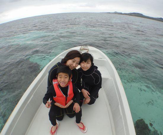 I田さんご家族です