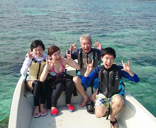 N澤さんご家族です。