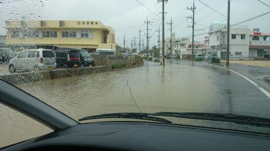 昨日は、大雨でしたっ!