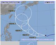 もう次の台風です。