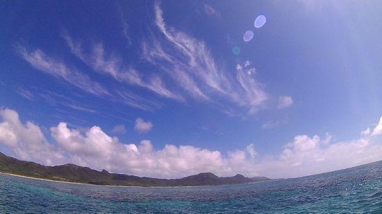 今日から晴れ間広がる石垣島です