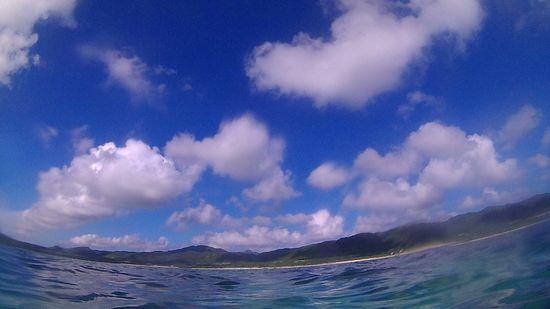 今日の石垣島は晴れ