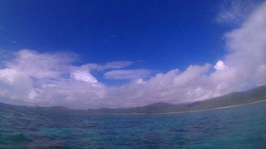 やっと晴れ間広がる石垣島です。