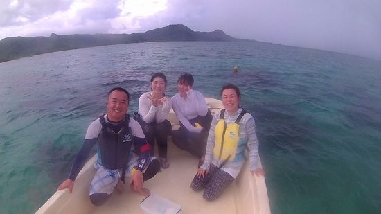 M田さんご夫婦とK山さんとF本さんです