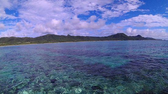 晴れ、穏やかな石垣島です