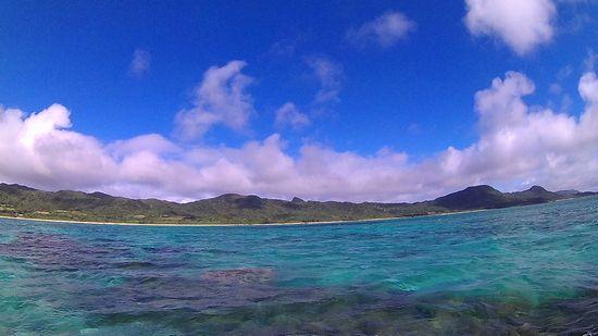 天気は晴れ!すっきり気持ち良い天気の石垣島です。