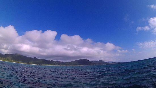 晴れの石垣島です。