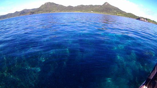 海も穏やかです