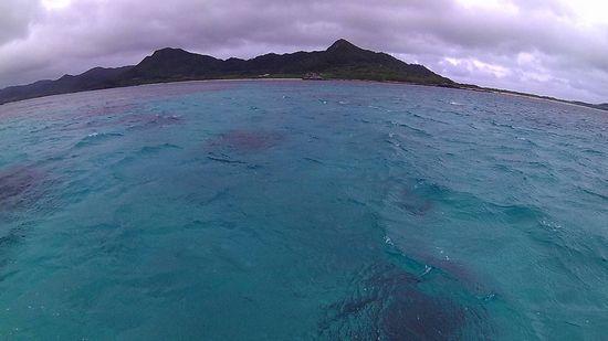 どんより雲の石垣島です
