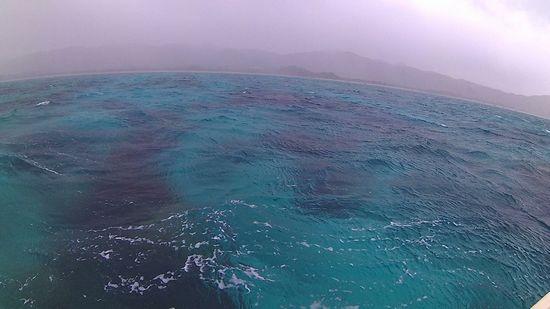 ちょっとてごわいコンディションの石垣島です