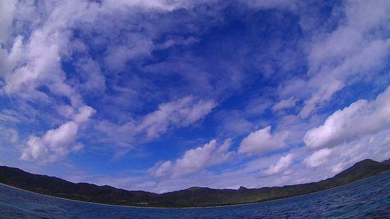 久々に青空の登場の石垣島です。