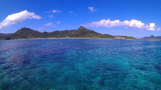 本日も快晴、シュノーケル日和の石垣島です