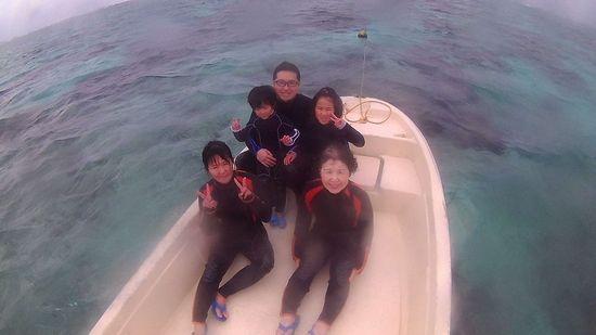 I江さんご家族です。