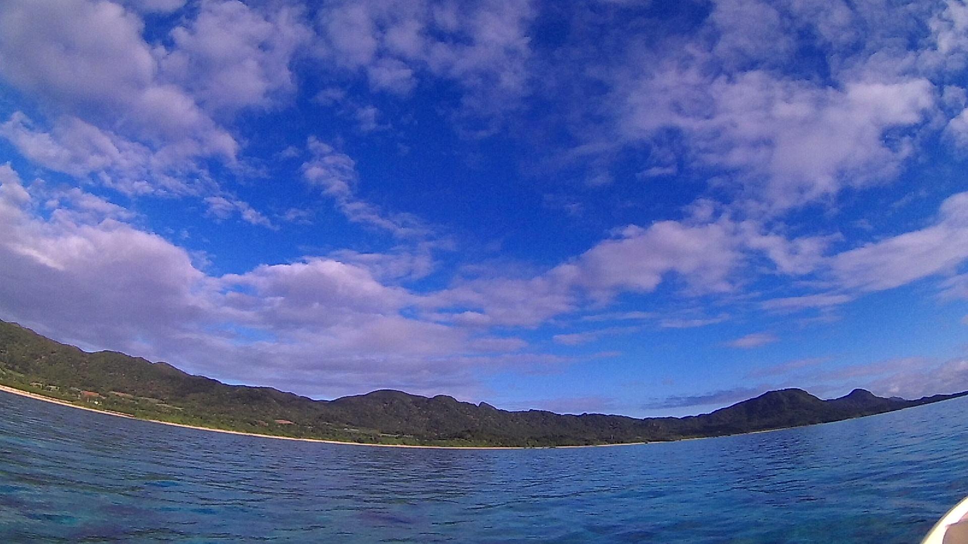 やっと晴れ間の登場の石垣島です。