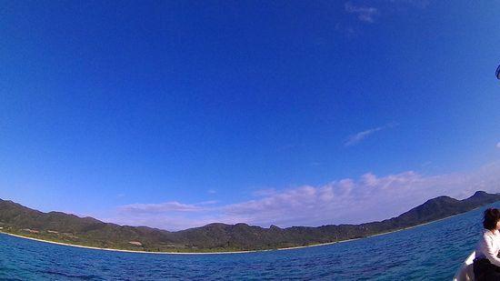 絶好調の天気の石垣島です