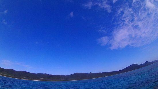 徐々に晴れ間ひろがる石垣島です
