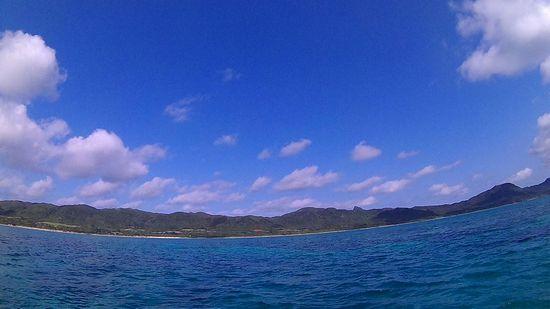 晴れの石垣島、暖かいです!