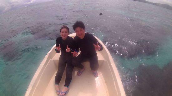 初めての石垣島のO石さんご夫婦です。
