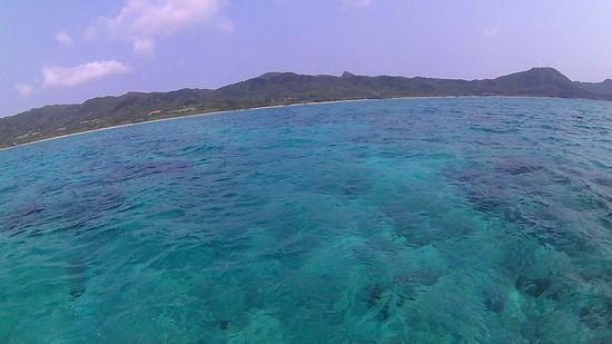 晴れの天気の石垣島です。