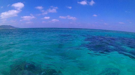 天気は一気に回復の石垣島です。