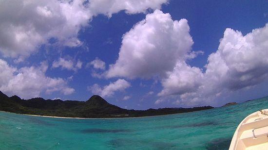 基本晴れの天気の石垣島です