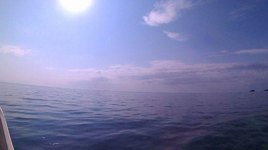 天気は晴れ!の石垣島です。