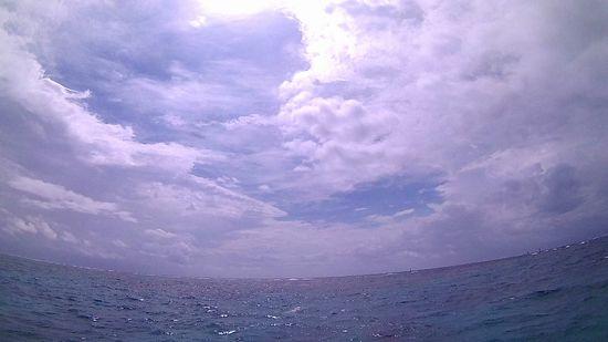 晴れたり雨ふったりの石垣島です。